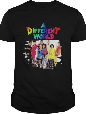 Lgbt a different world characters shirt