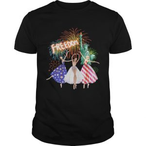 Liberties Freedom Ballet American Flag Independence Day Girls  Unisex
