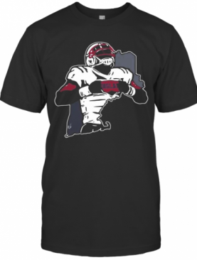 Pats Pulpit New England Patriots Player T-Shirt