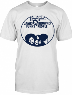People Records James Brown'S Funky People T-Shirt