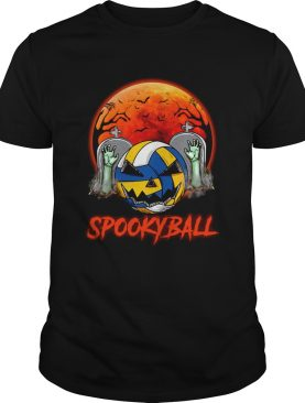 Sookyball sunset tomb ghost halloween shirt