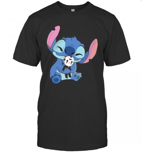 Stitch Hug Halloween Michael Myers T-Shirt Classic Men's T-shirt