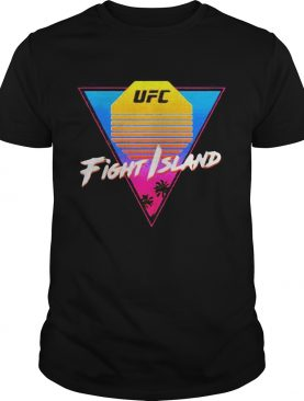 Ufc fight island sunset vintage shirt