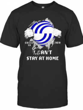 Blood Inside Airbus Covid 19 2020 I Can'T Stay At Home T-Shirt
