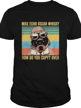 Boxer mike echo oscar whisky how do you copy over vintage retro shirt