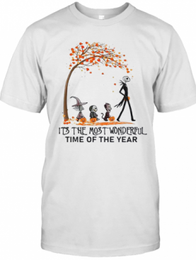 Jack Skellington It'S The Most Wonderful Time Of The Year T-Shirt