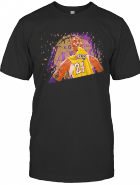 Los Angeles Lakers Kobe Bryant 24 Basketball Player T-Shirt