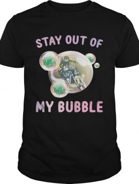 Motocross stay out of my bubble covid19 shirt
