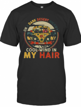 Peace Bus Elephant On A Dark Desert Highway Cool Wind In My Hair T-Shirt