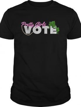Pretty Girls Vote Sorority AKA shirt