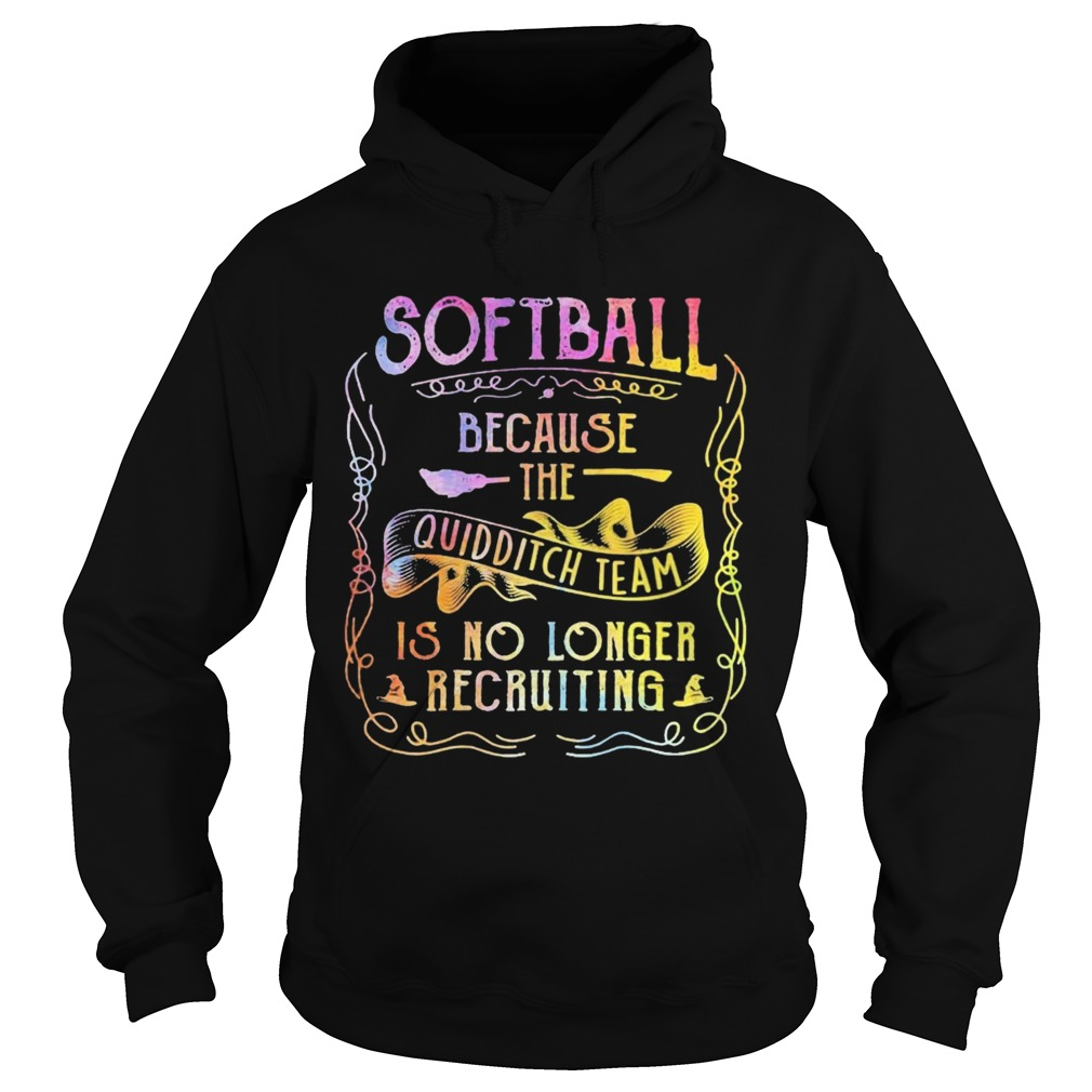 Softball Because The Quidditch Team Is No Longer Recruiting  Hoodie