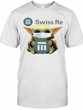 Star Wars Baby Yoda Mask Hug Swiss Re T-Shirt