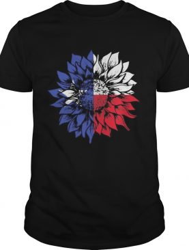 Sunflower Texas Flag shirt