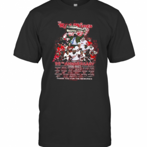 The Red Wings 95Th Anniversary 1926 2020 Thank You For The Memories Signatures T-Shirt Classic Men's T-shirt