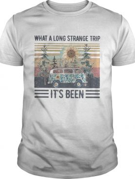 What a long strange trip its been Sunflower Vintage retro shirt
