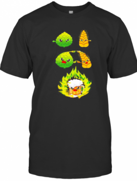 Wheat Beer Hops Fusion Beer T-Shirt