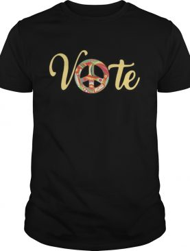 vote peace shirt