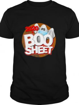 2020 is Boo Sheet Halloween humor pun ghost shirt