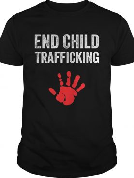 End Child Trafficking shirt