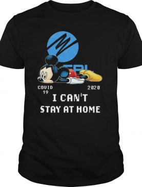 Florida Power And Light Mickey Mouse Covid 19 2020 I Cant Stay At Home shirt