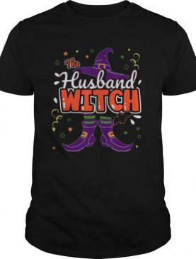 Halloween The Husband Witch Family Matching Funny Group Men shirt