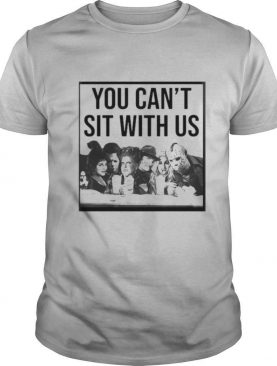 Halloween hocus pocus you can't sit with us shirt