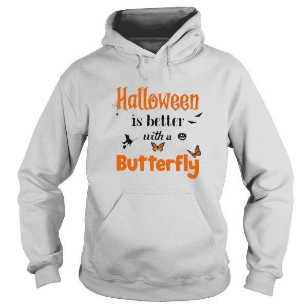 Halloween is better with a butterfly shirt