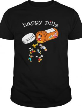 Happy pills mickey mouse and friends shirt