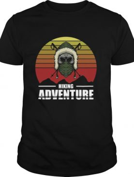 Hiking Adventure Day Of The Dead Vintage shirt