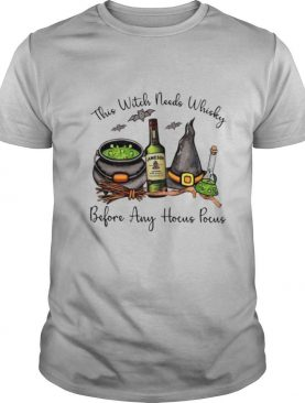 Jameson This Witch Needs Whisky Before Any Hocus Pocus shirt