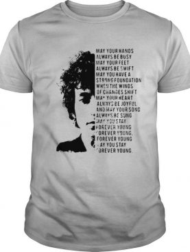 Jimi Hendrix May Your Hands Always Be Busy May Your Feet Always Be Swift May You Have A Strong Foundation shirt