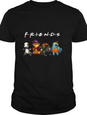 Pokemon Charmander Pikachu Bulbasaur And Squirtle Friends Halloween shirt