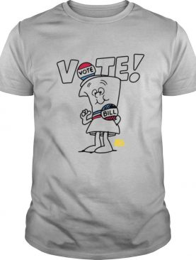 Ripple Junction Schoolhouse Rock Vote With Bill White Type Adult shirt