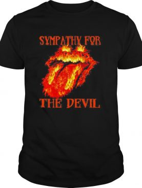 Rolling stone sympathy for the devil fire shirt