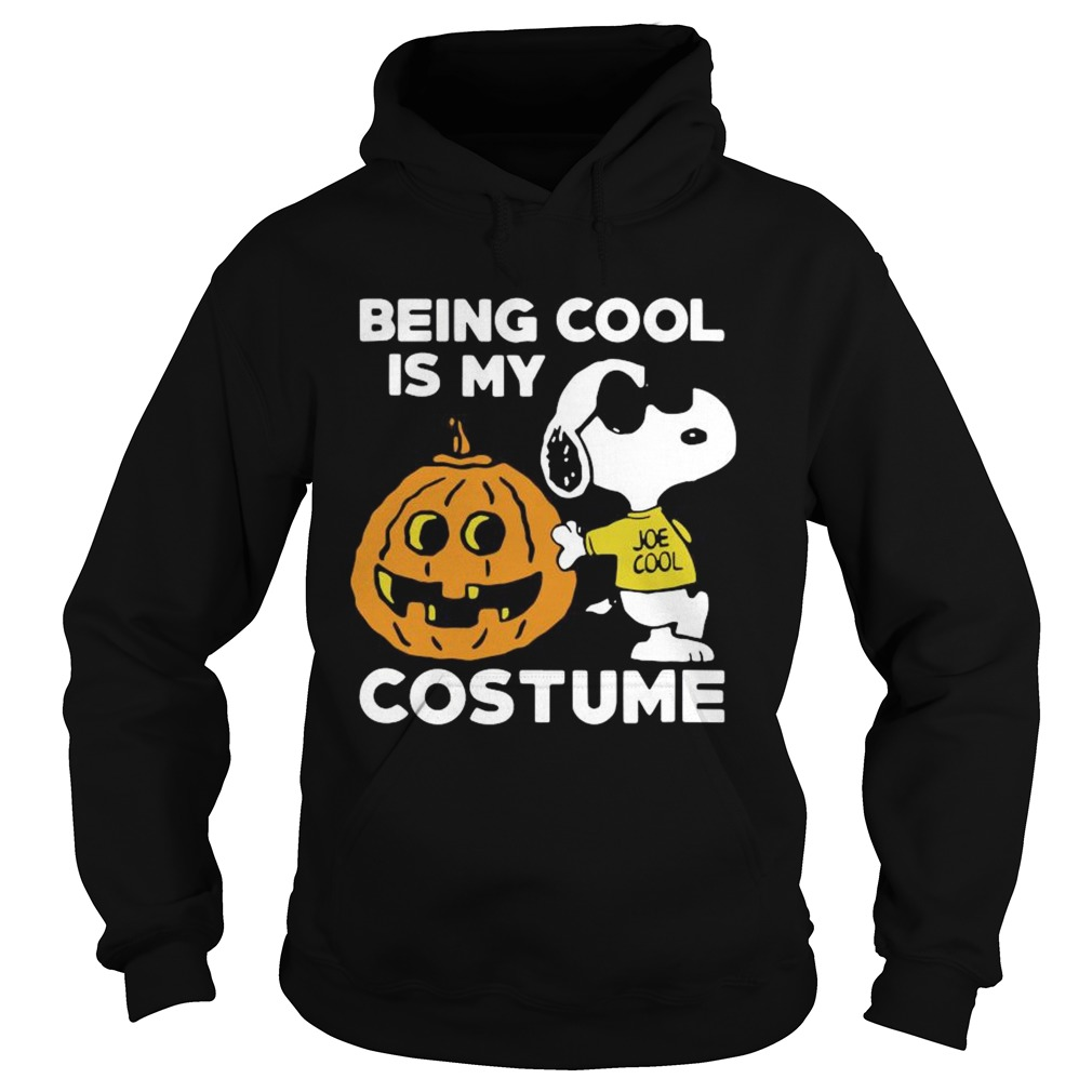 Snoopy Being Cool Is Costume  Hoodie