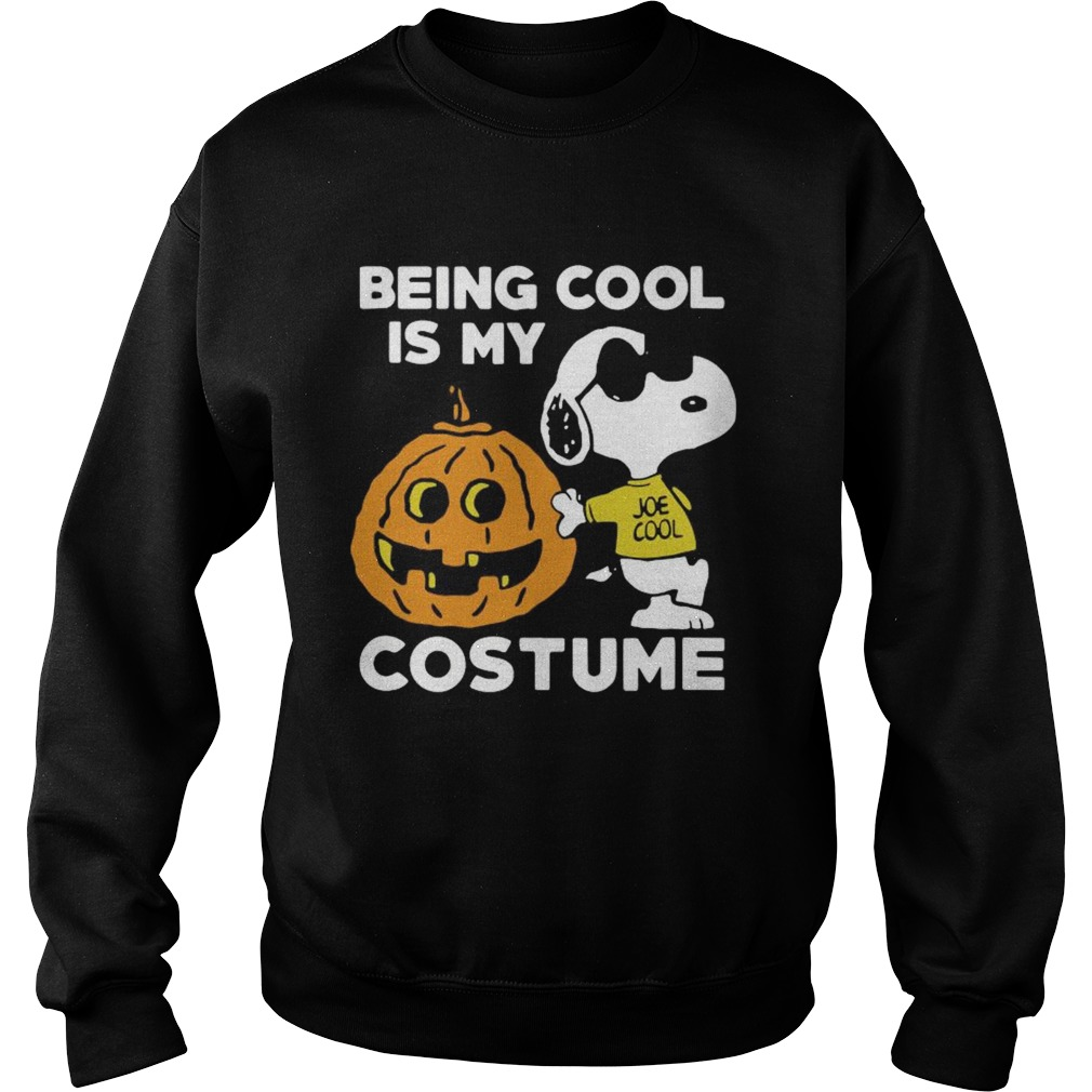 Snoopy Being Cool Is Costume  Sweatshirt