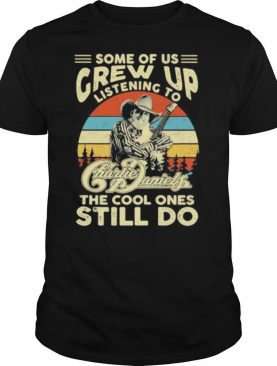 Some of us grew up listening to charlie daniels the cool ones still do vintage retro shirt
