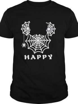 Spider mickey mouse happy halloween shirt
