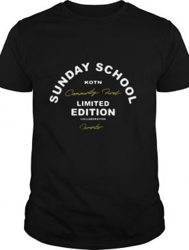 Sunday School Kotn Limited Edition shirt