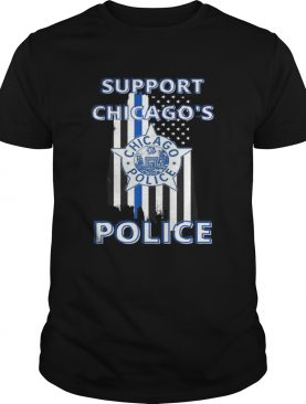 Support Chicago Police Department Political Activism shirt