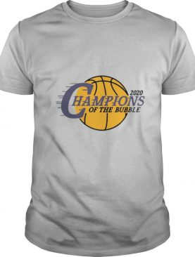 2020 L.A Champions Of The Bubble shirt