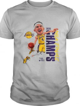 Alex Caruso Los Angeles Lakers Champions 2020 shirt