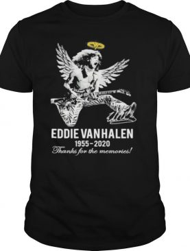 Eddie van halen king 1955 2020 thank for the memories signature shirt