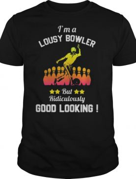 I'm a lousy bowler but ridiculously good looking shirt
