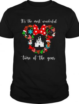 Mickey Disney It's The Most Wonderful Time Of The Year shirt