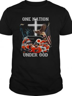 Philadelphia Flyers One Nation Under God shirt