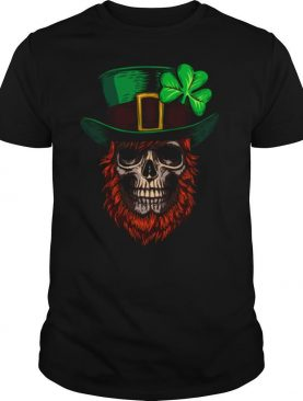 Saint Patricks Skull Man Day Of Dead Muertos shirt