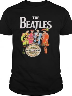 The beatles band lonely hearts vintage shirt