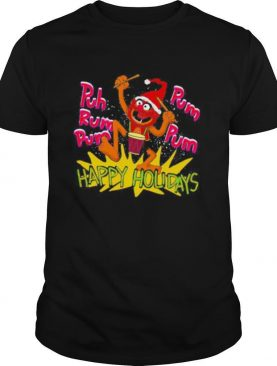 The muppets drummer puh rum pum happy holiday shirt