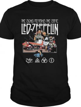 The song remains the same led zeppelin shirt